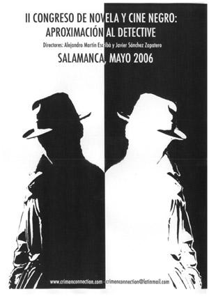 II Congreso de novela y cine negro: aproximación al detective