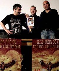 El escritor Carlos Aguilar recibe el homenaje de la Semana de Cine Fantástico