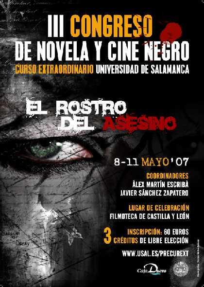 III Congreso de Novela y Cine Negro. El rostro del asesino