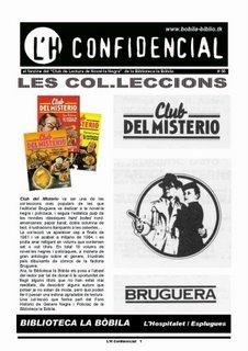 """""""El Club del Misterio"""" en L'H Confidencial #56"""