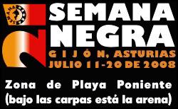 Programa provisional de la XXI Semana Negra