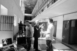 Antonio Resines y Luis Tosar se adentran en el rodaje de la 'Celda 211'