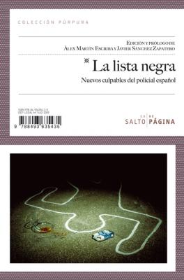 La lista negra. Nuevos culpables del policial español