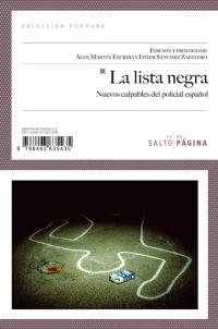 La lista negra. Nuevos culpables del policial español, por Josephb Macgregor