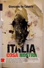 """""""Italia cosa nostra"""", de Giancarlo De Cataldo"""