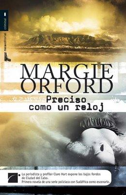 Preciso como un reloj, de Margie Orford