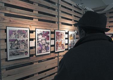 BCNegra abre con el dibujante Jacques Tardi