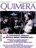 Quimera dedica su número estival a la novela negra